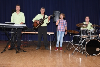 Konzert in Königsfeld (Foto: Werner Müller)